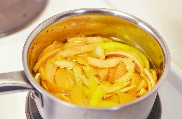 Candied Citrus Peel via bananabloom.com