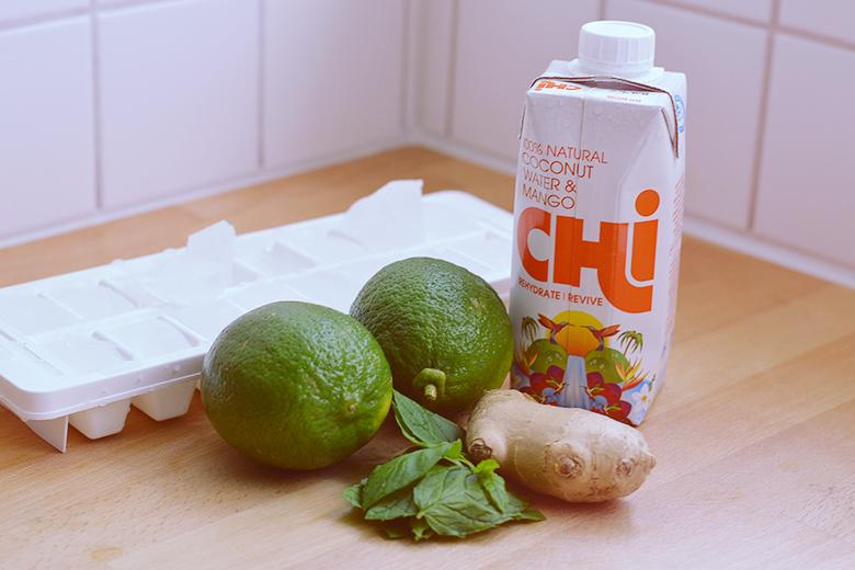Coconut & Lime Juice // bananabloom.com