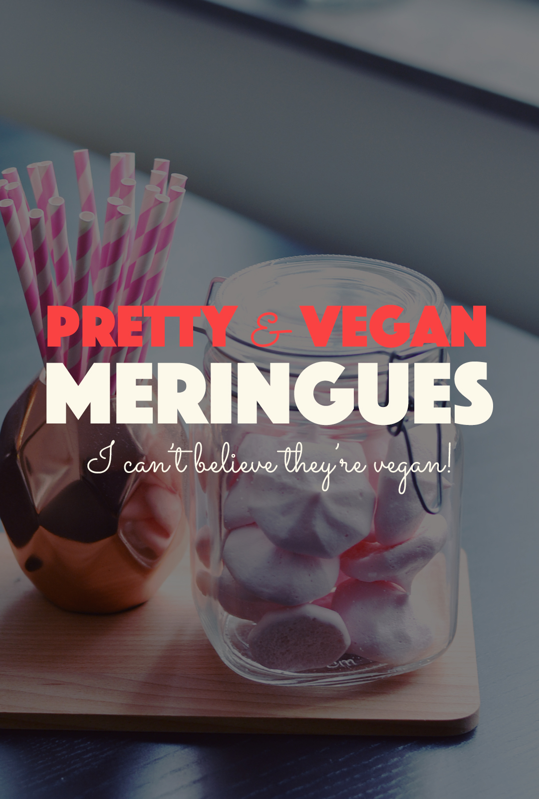 Vegan Meringues | http://BananaBloom.com