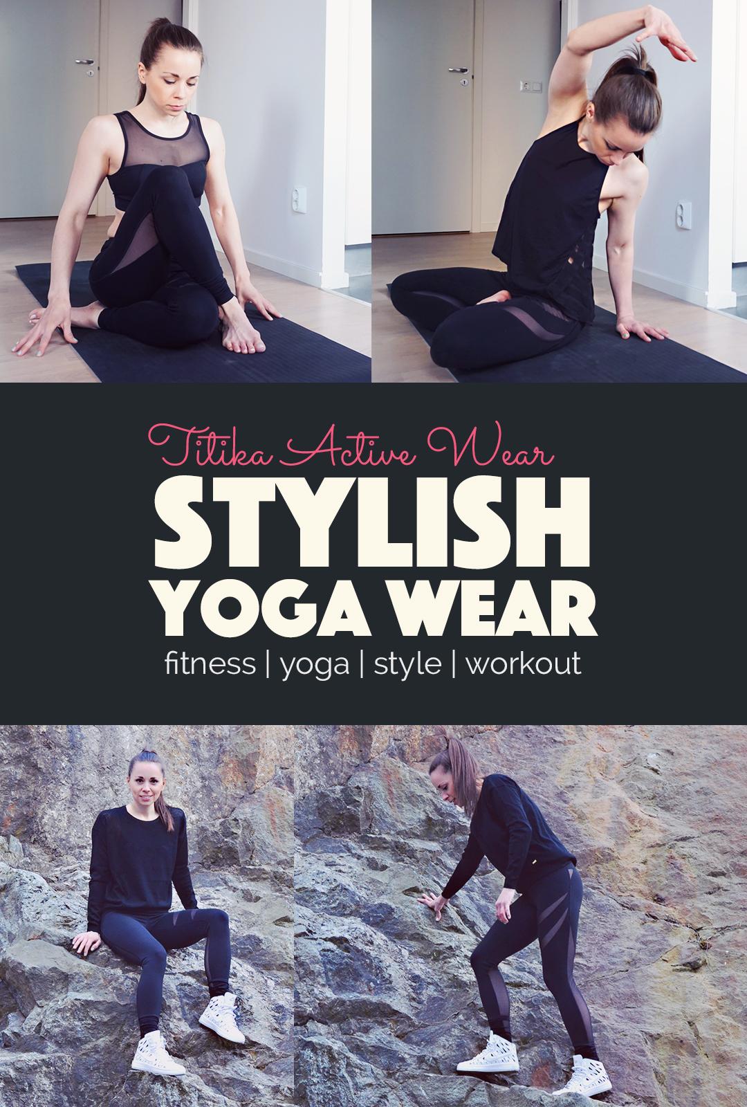 Stylish Yoga Gear |http://BananaBloom.com