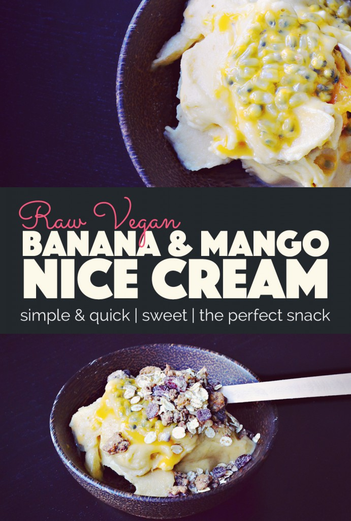 Banana Nice Cream - The Perfect Summer Snack | http://BananaBloom.com #nicecream #plantbased #vegan #icecream #summer #recipe