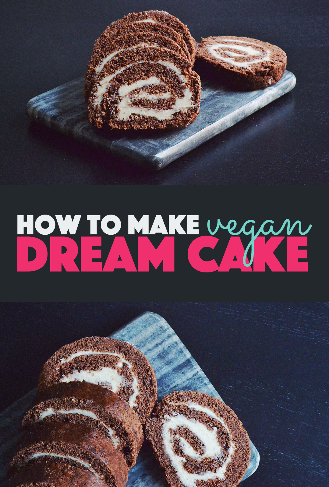 How to Make Vegan Dream Cake | http://BananaBloom.com #vegan #baking #cake