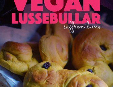 Vegan Lussebullar |http://BananaBloom.com