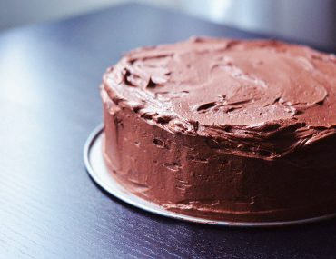 Decadent Vegan Double Chocolate Cake |http://BananaBloom.com