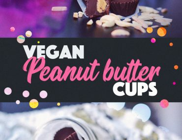Easy 2-ingredient Vegan Peanut Butter Cups | http://BananaBloom.com
