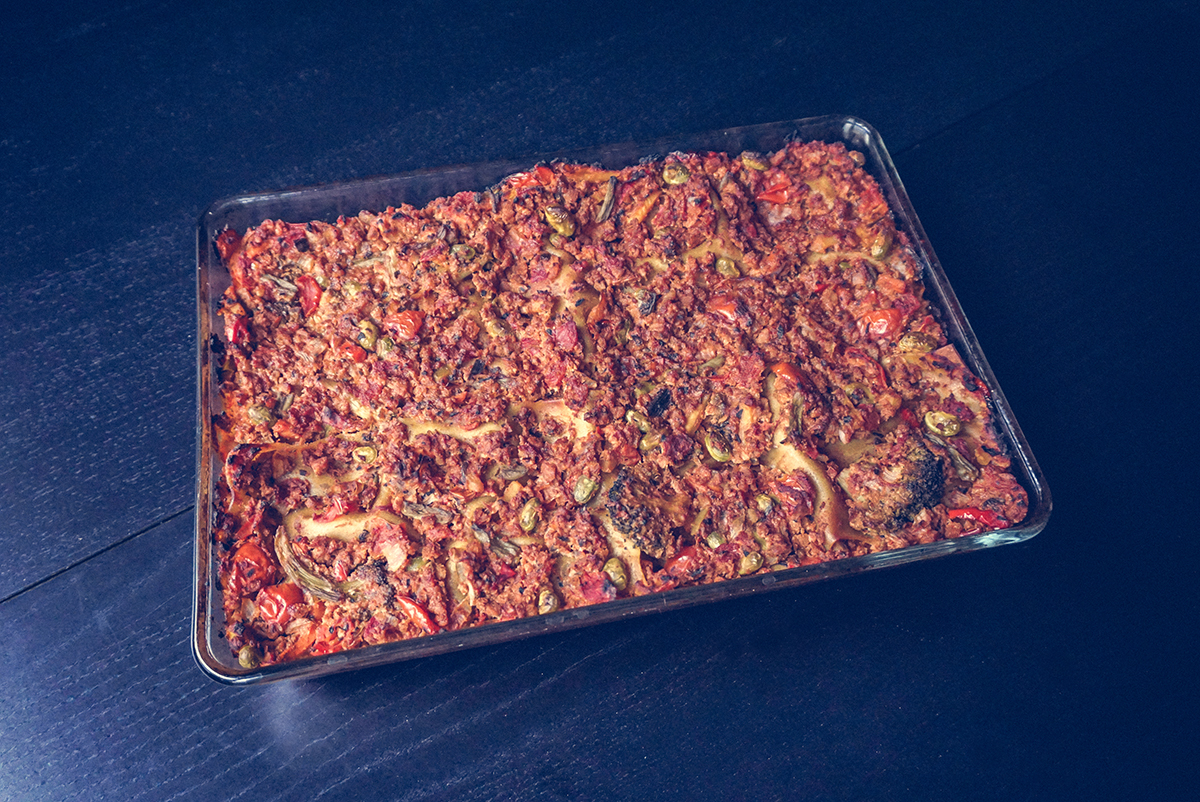Vegan Lasagna That Pretty Much Cooks Itself