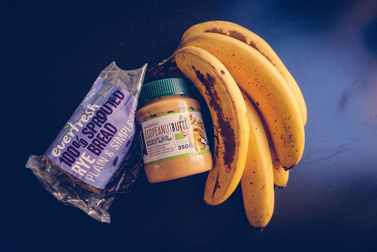 Peanut Butter Banana Toast |http://BananaBloom.com