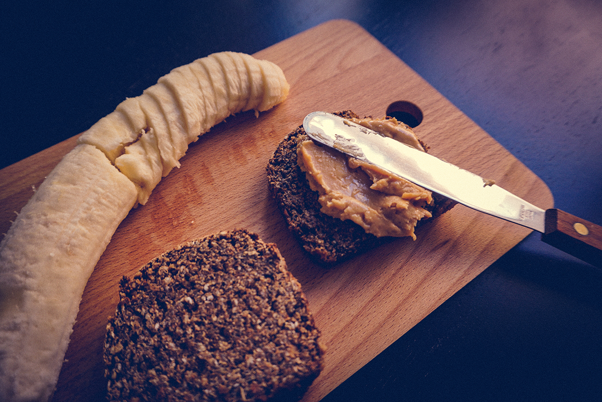 Peanut Butter Banana Toast | http://BananaBloom.com