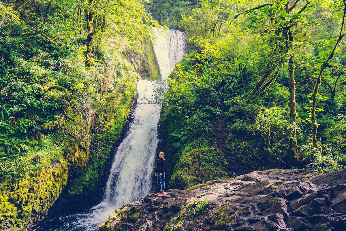 The Gorge Waterfalls in Portland, OR | BananaBloom.com