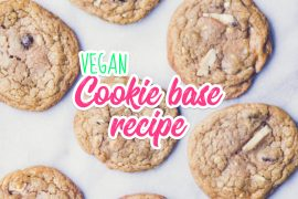 Vegan Cookie Base Recipe
