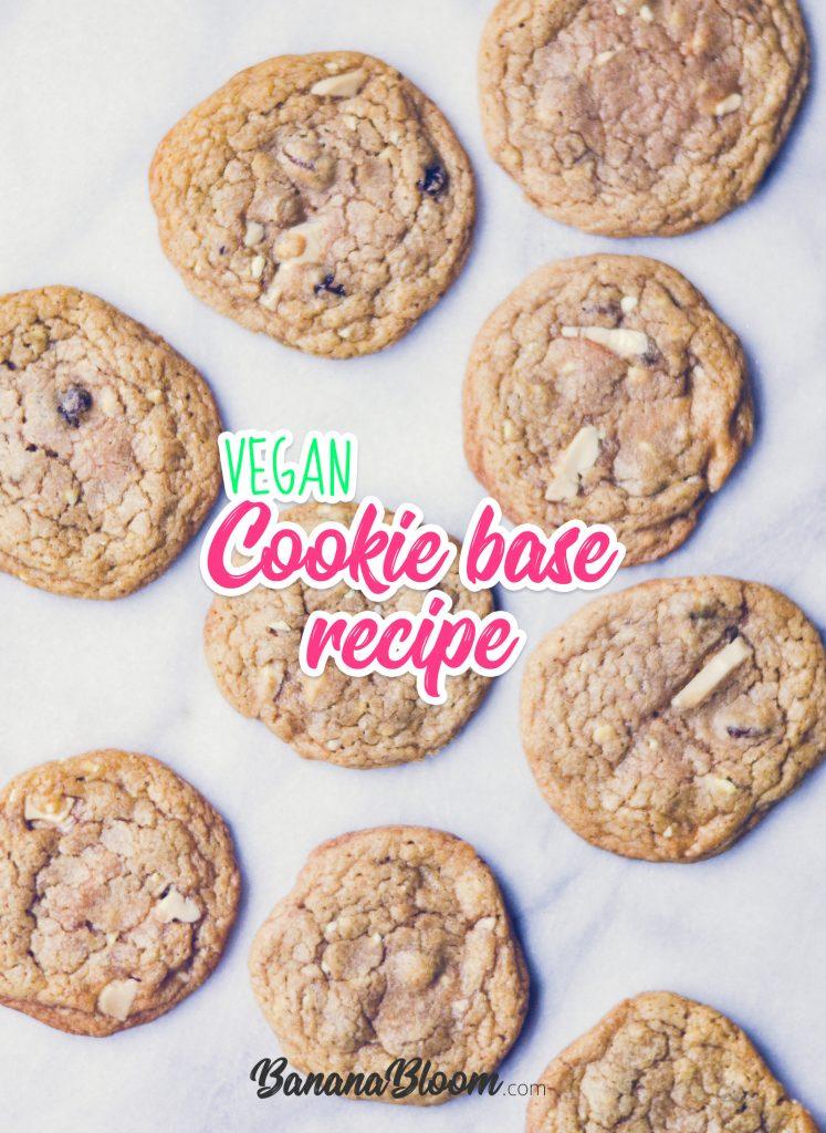 Vegan Cookie Base Recipe